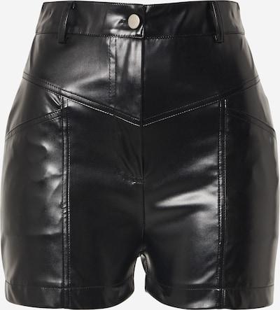 Missguided Pantalon en noir, Vue avec produit