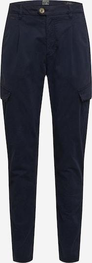 GUESS Plisované nohavice 'Brando' - námornícka modrá: Pohľad spredu