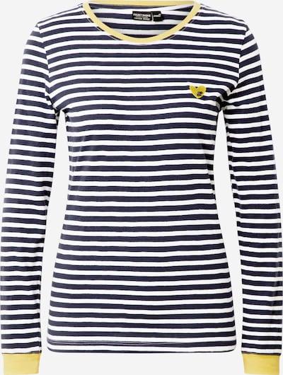 Eight2Nine T-shirt en bleu foncé / jaune / blanc: Vue de face