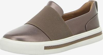 CLARKS Slipper 'Un Maui Step' in braun / weiß, Produktansicht