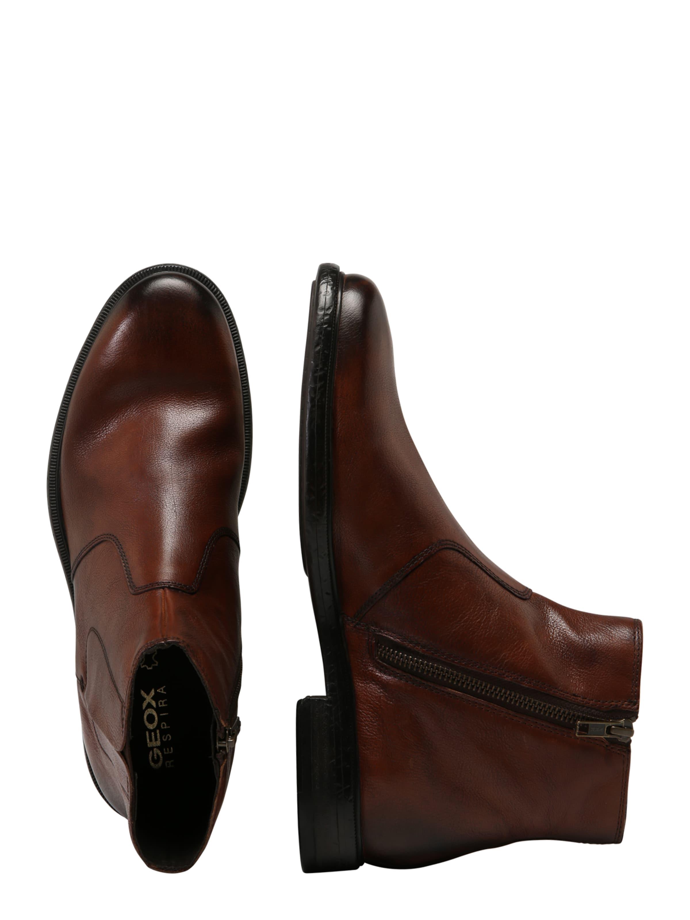 Boots Geox Chelsea Marron Châtaigne 'terence' En 2EH9IbWDeY