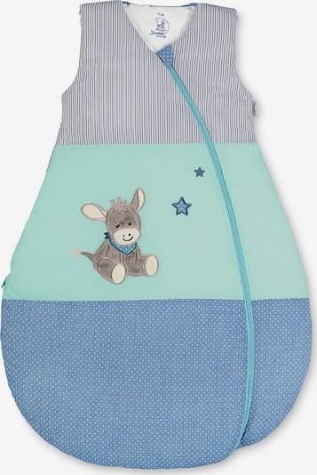STERNTALER Schlafsack 'Emmi' in rauchblau / hellgrau / mint, Produktansicht
