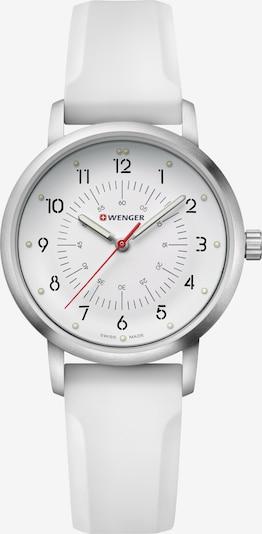 WENGER Uhr 'Avenue' in silber / weiß, Produktansicht