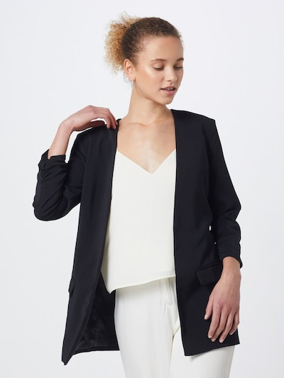 Švarkas 'Weronka' iš mbym , spalva - juoda, Modelio vaizdas