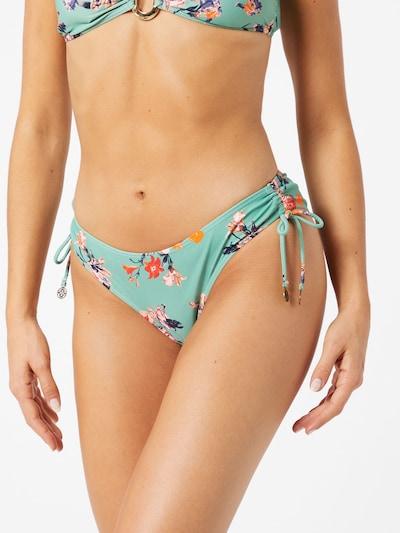 PIECES Bikinihose 'PCNYNNE' in grün / mischfarben, Modelansicht