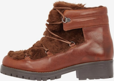 Bianco Ankle Boots in cognac, Produktansicht