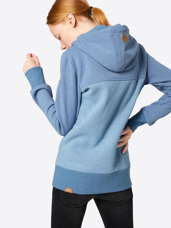 Sweatshirt 'nuggie Ragwear Sweat Blue B' In Smoky mnvN80w