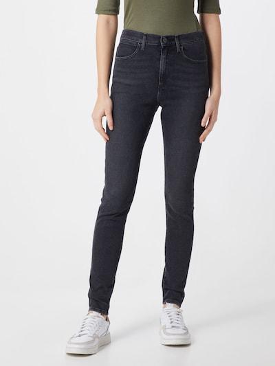 WRANGLER Jeans 'High Rise' in de kleur Zwart, Modelweergave