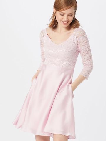 SWING Cocktailmekko värissä vaaleanpunainen