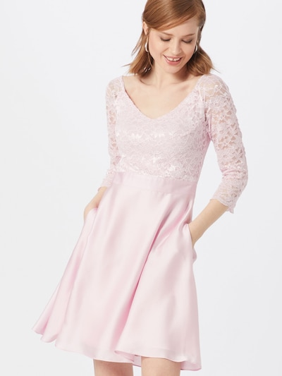 SWING Kleid in rosa, Modelansicht