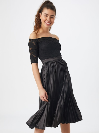 Chi Chi London Kleid 'Anna-Marie' in schwarz, Modelansicht
