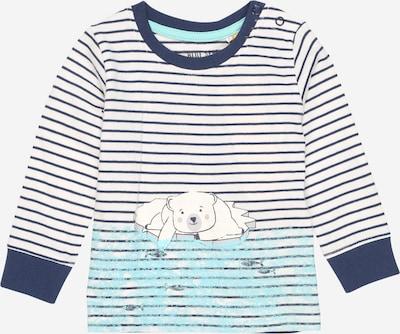 BLUE SEVEN T-Shirt in blau / aqua / offwhite, Produktansicht