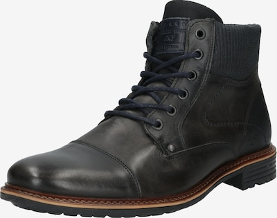 Suvarstomieji batai iš BULLBOXER , spalva - tamsiai ruda: Vaizdas iš priekio