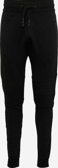 tigha Sweathose mit Stepp-Partien 'Trevor Zip' in schwarz, Produktansicht