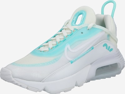 Nike Sportswear Sneakers low 'Air Max 2090' in turquoise / white, Item view