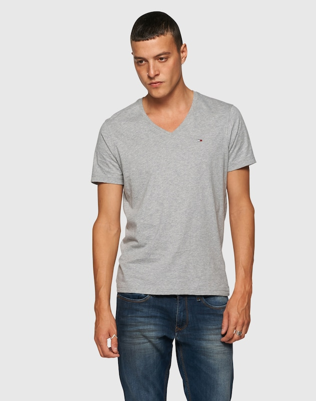 Tommy Jeans T-Shirt mit V-Ausschnitt 'Original'
