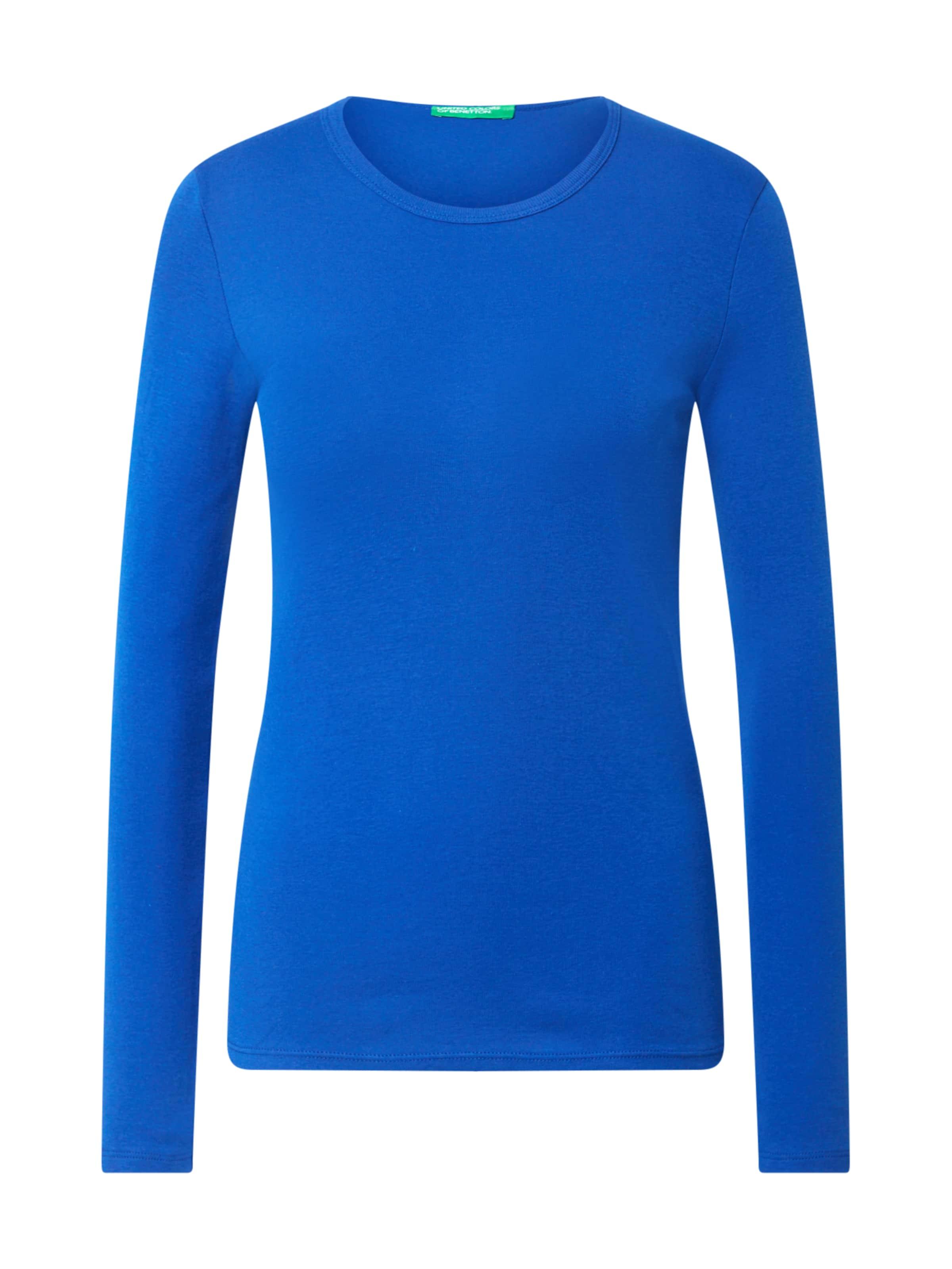 UNITED COLORS OF BENETTON Pulóver kék színben
