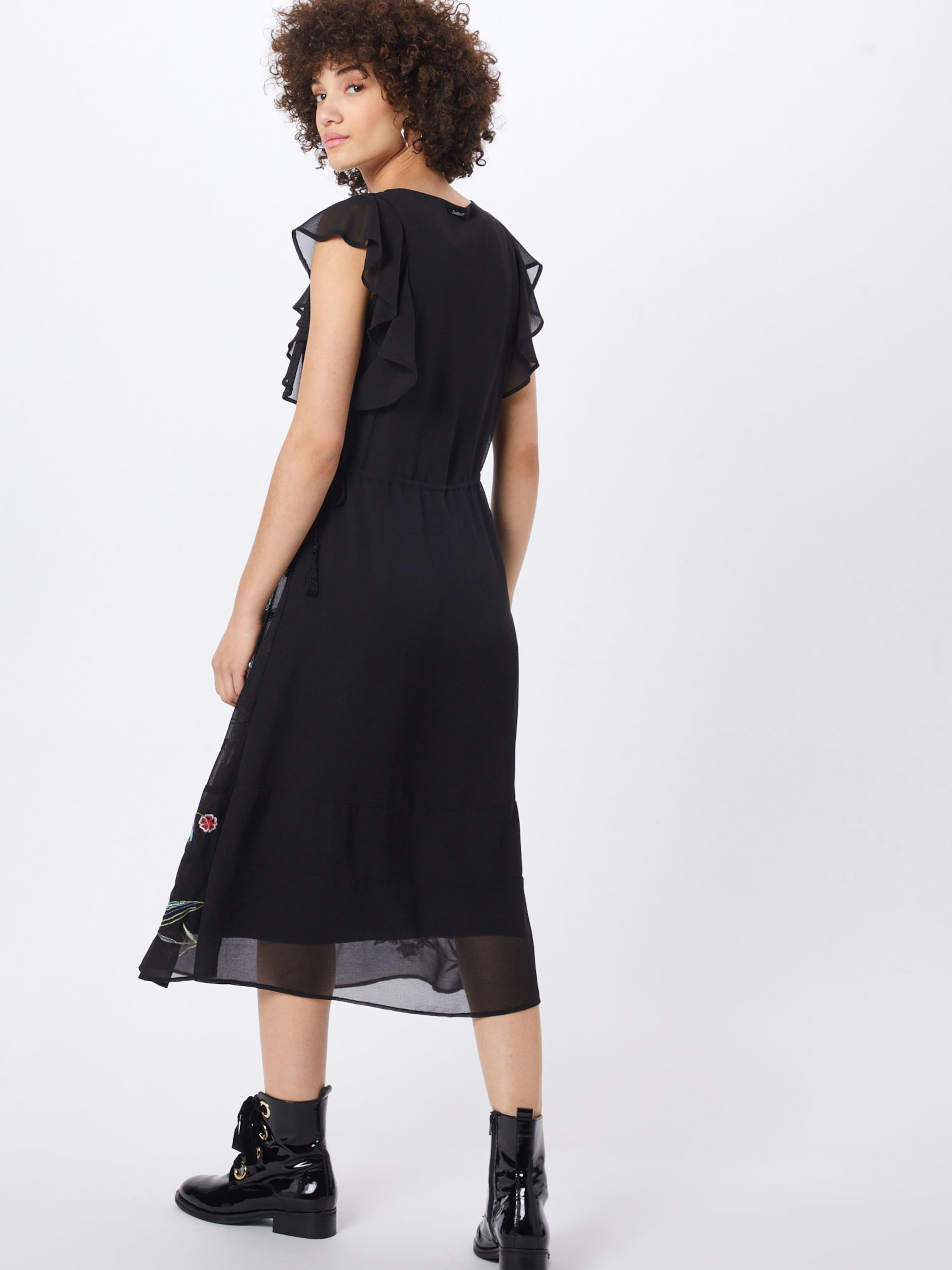 MischfarbenSchwarz Desigual In 'vest Kleid sandy' 8PkOwn0