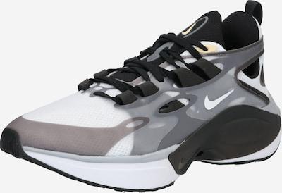 Nike Sportswear Sneakers laag 'NIKE SIGNAL' in de kleur Grijs / Zwart / Wit, Productweergave