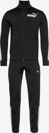 PUMA PUMA Trainingsanzug in schwarz / weiß, Produktansicht