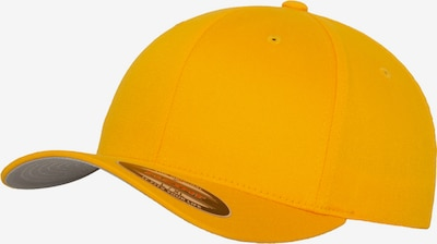 Flexfit Cap in goldgelb, Produktansicht