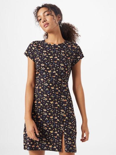 ABOUT YOU Kleid 'Caya' in dunkelblau / mischfarben: Frontalansicht