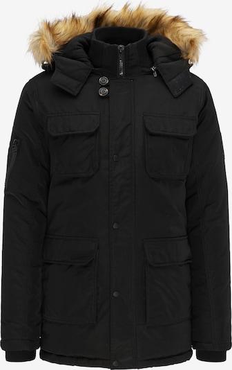 Petrol Industries Winterparka in de kleur Zwart, Productweergave