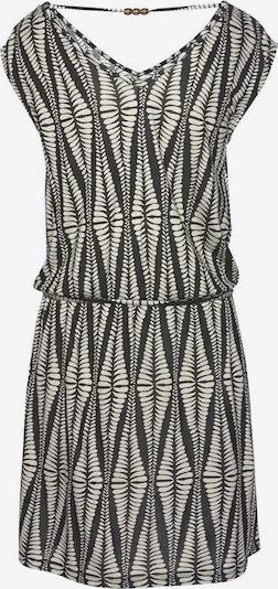 LASCANA Kleid in sand / schwarz, Produktansicht