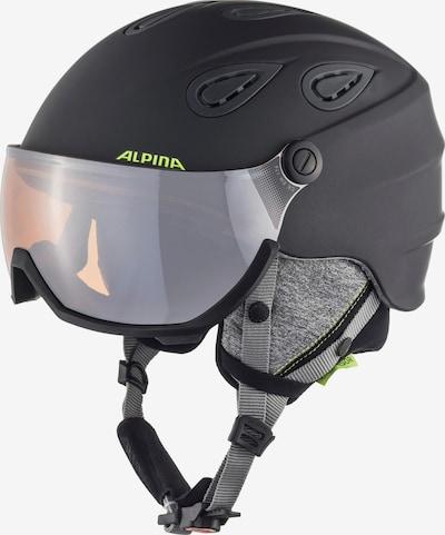 Alpina Visierhelm 'GRAP VISOR 2.0 HM' in anthrazit, Produktansicht