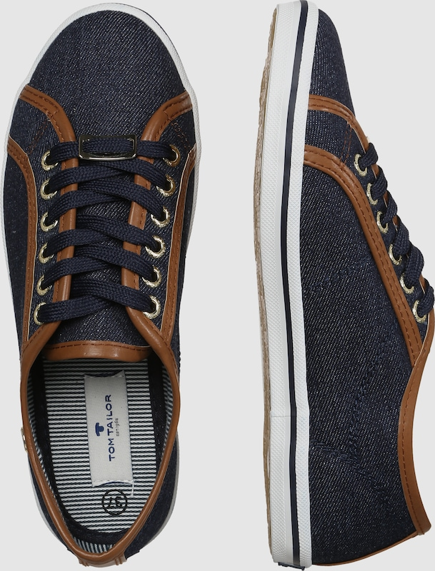 TOM TAILOR Sneaker low 'Maritim Jeans'