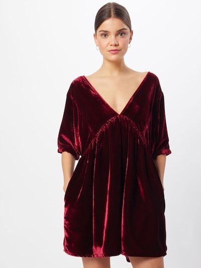 Free People Kleid 'IVY' in weinrot, Modelansicht