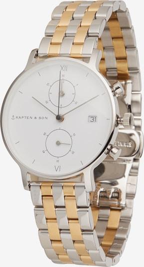 Analoginis (įprastinio dizaino) laikrodis 'Bicolor Steel' iš Kapten & Son , spalva - Auksas / Sidabras, Prekių apžvalga