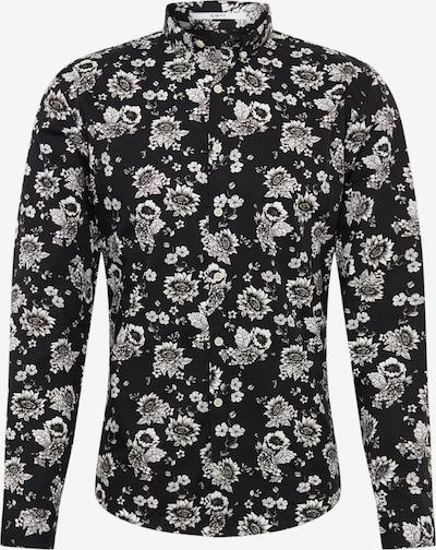 Lindbergh Overhemd in de kleur Zwart / Wit, Productweergave