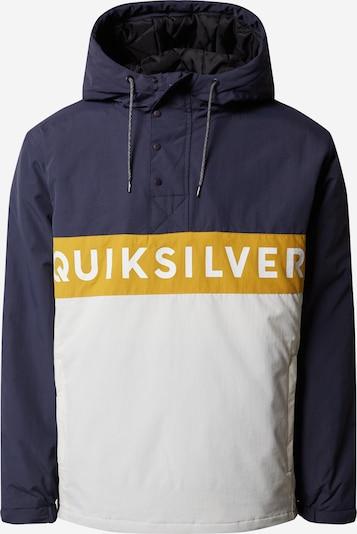 QUIKSILVER Sportovní bunda 'NEWTAZAWA' - námořnická modř / bílá, Produkt