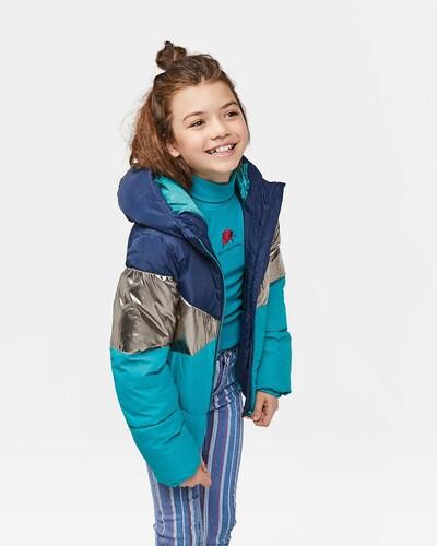 WE Fashion Winterjacke in blau: Frontalansicht