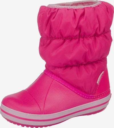Crocs Snowboots in pink / weiß, Produktansicht