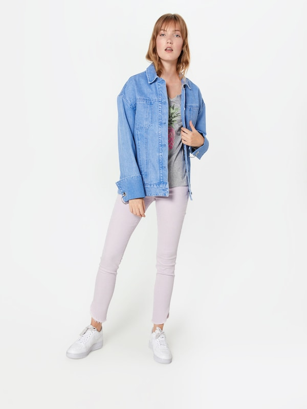 Shirt Edc By In LichtgrijsGrasgroen Esprit Rosa 92YDEIeWHb