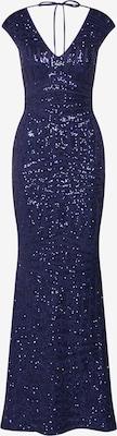 Robe de soirée 'WS NVY AO SQN MAXI' - Lipsy en bleu marine
