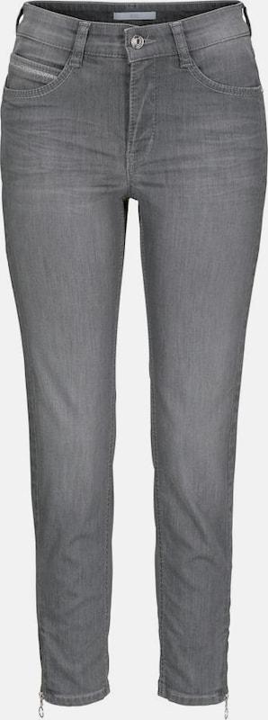 MAC 7 8-Jeans 'Angela Zip' in hellgrau  Neue Kleidung in dieser Saison