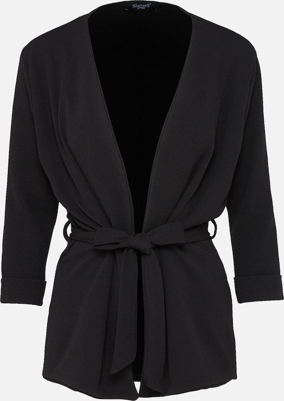 SISTERS POINT Blazer 'CADDY' in schwarz, Produktansicht