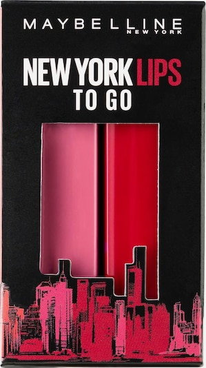 MAYBELLINE New York Geschenk-Set 'X-MAS Made for All' in fuchsia / eosin, Produktansicht