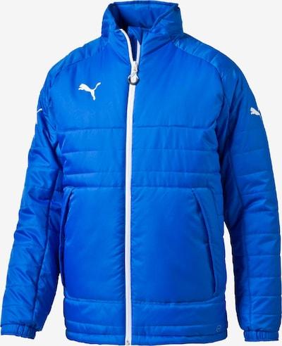 PUMA Jacke in blau / weiß, Produktansicht