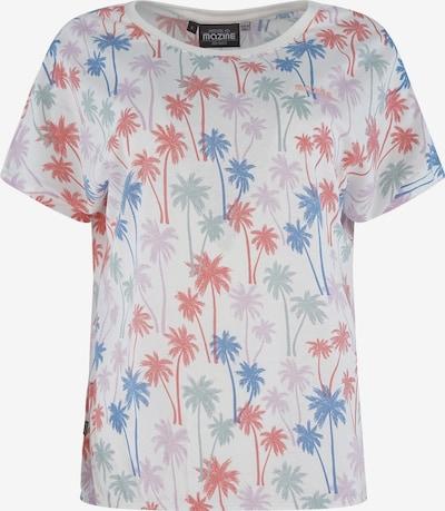 mazine T-Shirt 'Melissa' in mischfarben / weiß, Produktansicht