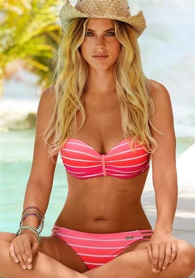 VENICE BEACH Bikini en rose, Vue avec modèle
