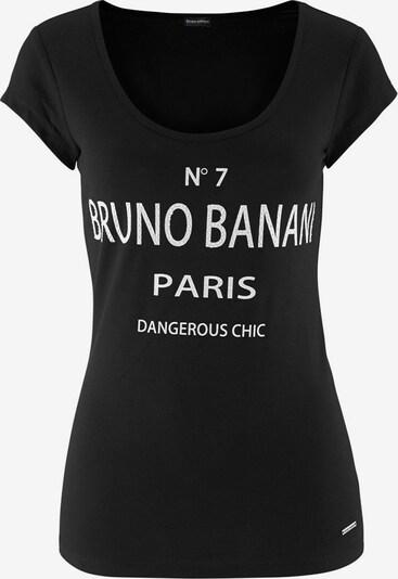 BRUNO BANANI T-Shirt in schwarz / weiß, Produktansicht