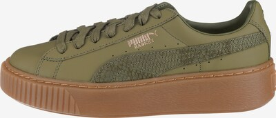 PUMA Sneaker 'Euphoria' in oliv, Produktansicht