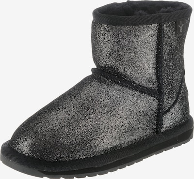 EMU AUSTRALIA Winterstiefel 'Wallaby Mini Metallic' in schwarz, Produktansicht