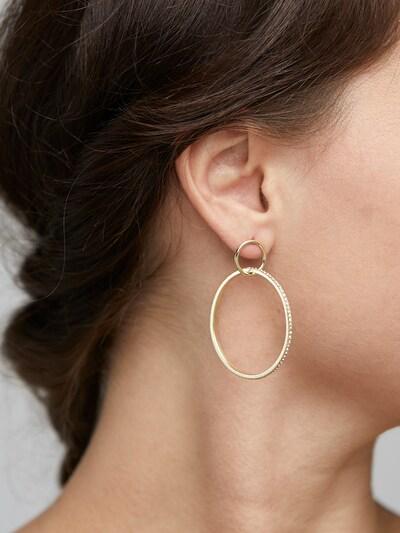 Pilgrim Kõrvarõngas 'Earrings Fire' Kuld, Modellivaade