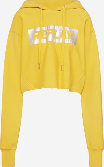 REPLAY Sweatshirt in gelb, Produktansicht