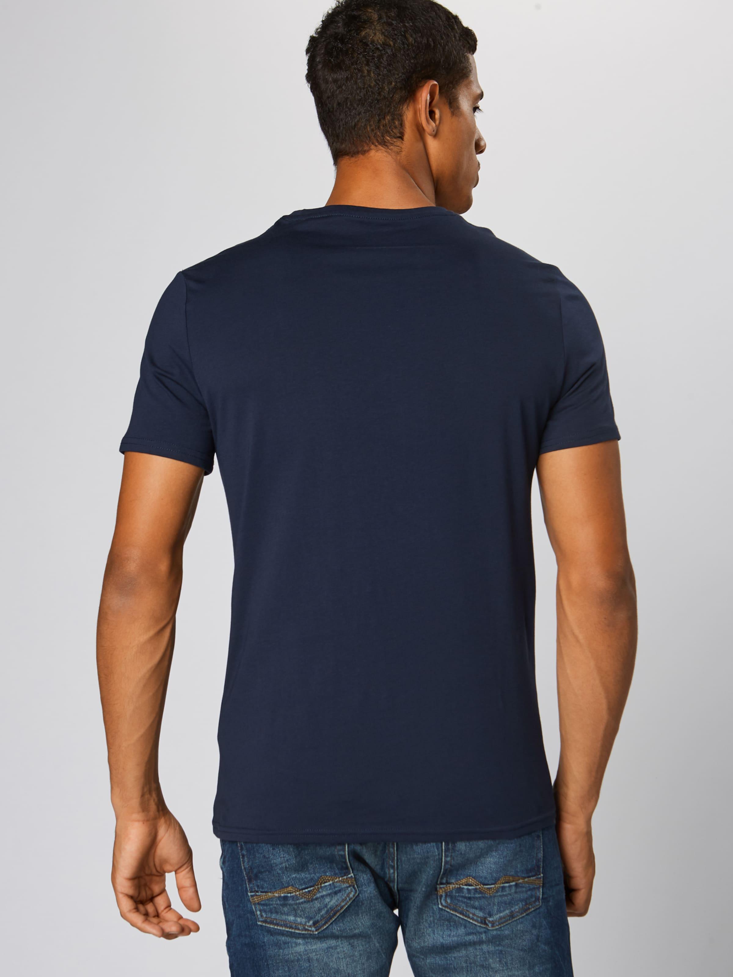 shirt En Bleu Guess Marine T 34AL5Rj